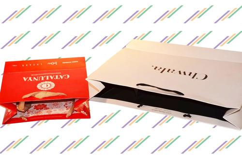 bolsas de papel y cartulina con tu logo