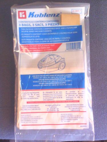 bolsas de papel y filtros para aspiradora todas las marcas