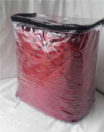 bolsas de pvc p/ cubrecamas 38x46x18 cm por pack de 6 unid