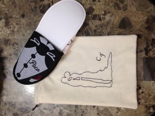 bolsas de recuerdo para pantuflas y sandalias para boda