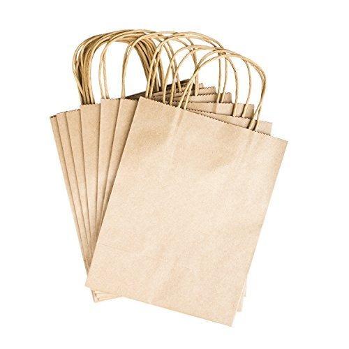 bolsas de regalo de papel con asas de 8 \x  x 4.25 \para ar