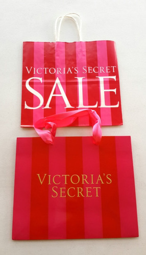 bolsas de regalo med. de victoria secret originales