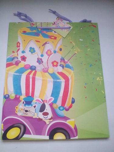 bolsas de regalo paquete: 8 unids cumpleaños niño/caballero
