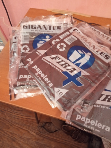 bolsas de residuos 50x55