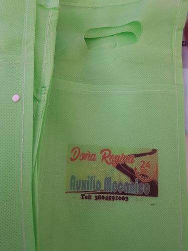 bolsas de residuos para auto-publicitarias.