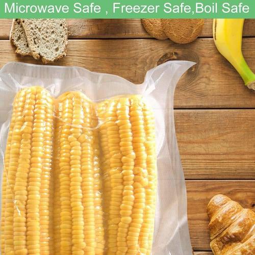 bolsas de sellador al vacío para alimentos, sellar un s