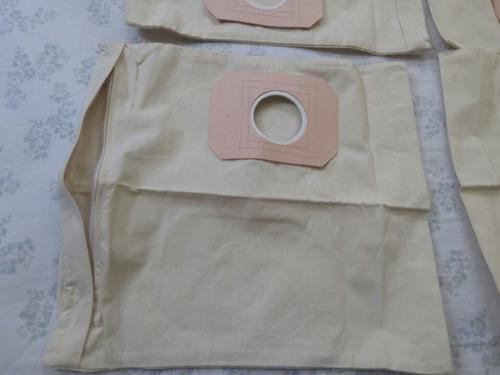 bolsas de tela lavables para aspiradora