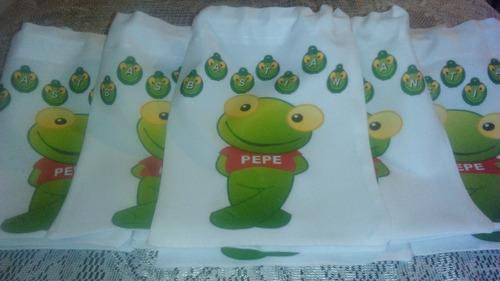 bolsas de tela para sorpresitas