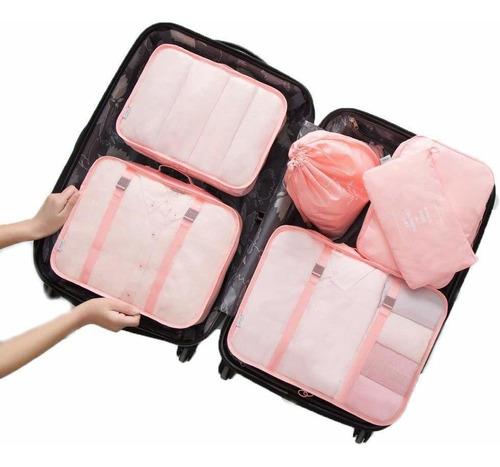 bolsas de viaje organizadora de equipaje (6 piezas)