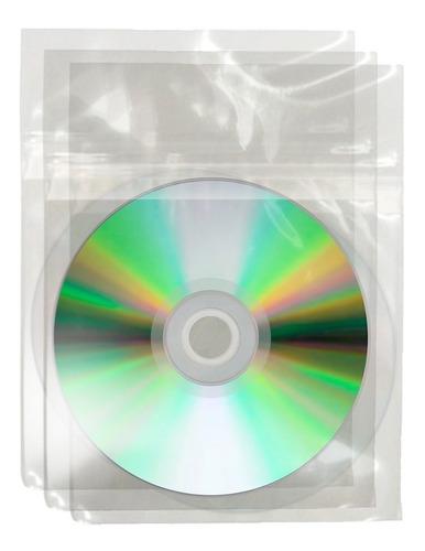 bolsas dvd c/ adhesivo 50 mic x 200 unidades - factura a / b