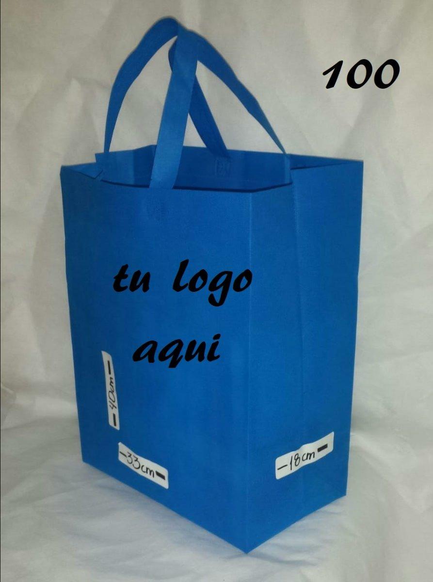 8a8fa8dd3 bolsas ecologica azul paq 100 piezas sellada personalizada. Cargando zoom.
