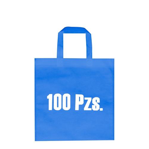 bolsas ecológicas con asas 30x35cm sin impresion 100 piezas