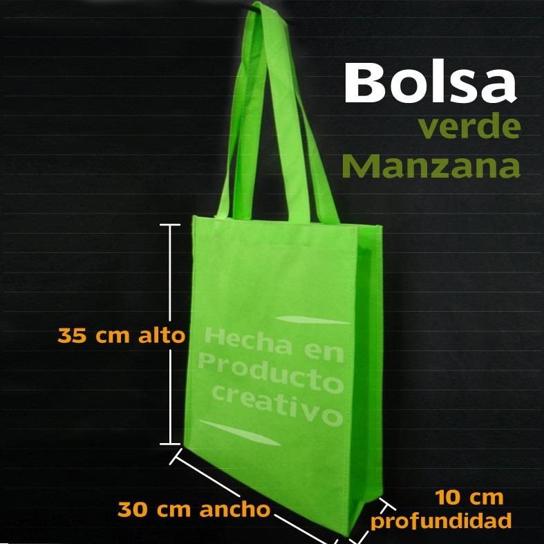 f7e1e97fb Bolsas Ecológicas Medida 30x35x10 Sin Estampado Disponibles - Bs ...