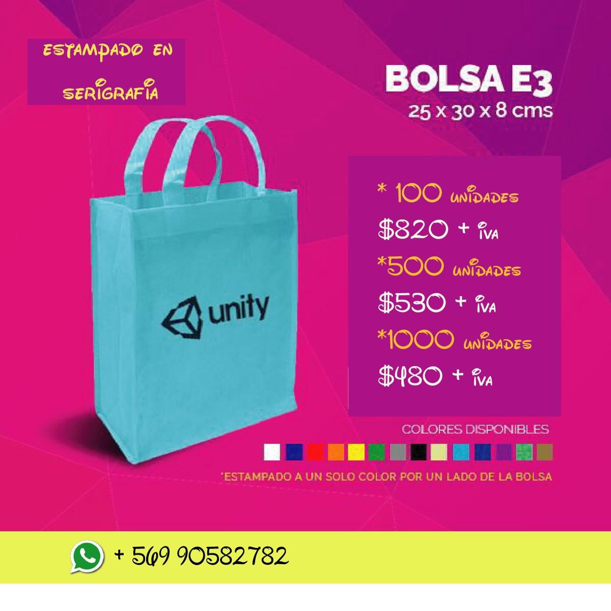 7e760c9d7 Bolsas Ecologicas Personalizadas - $ 820 en Mercado Libre