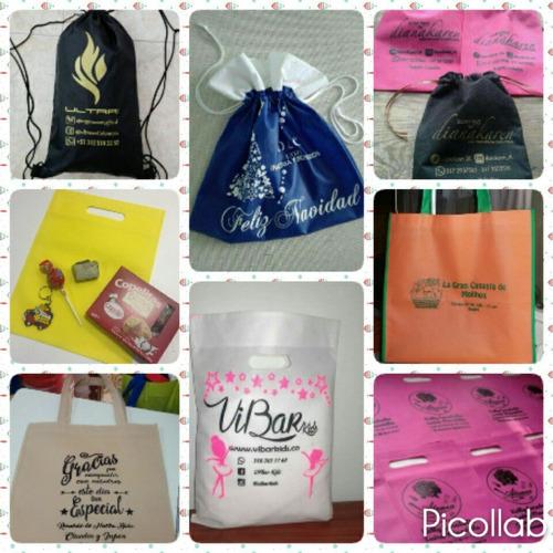 bolsas ecológicas publicitarias regalos, ropa, eventos