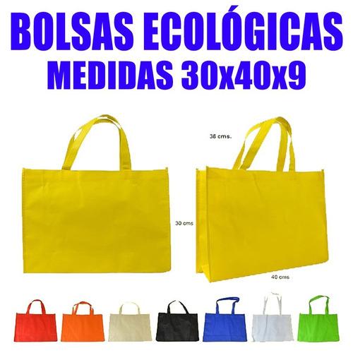 bolsas ecologicas tnt 30x40x9