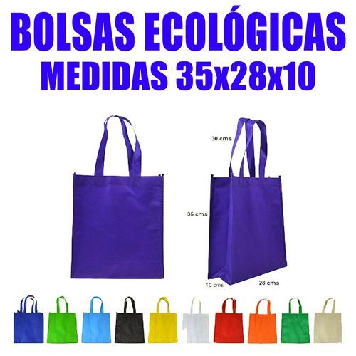 bolsas ecologicas tnt 35x28x10