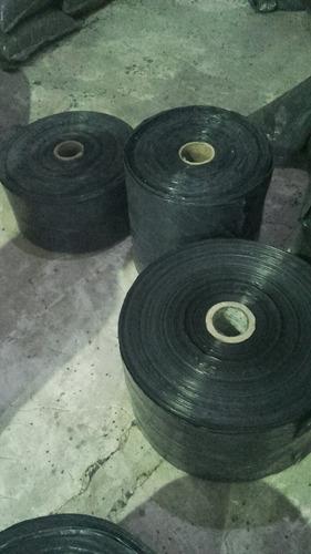bolsas en bobinas, polietileno negro, cristal/caramelo/color