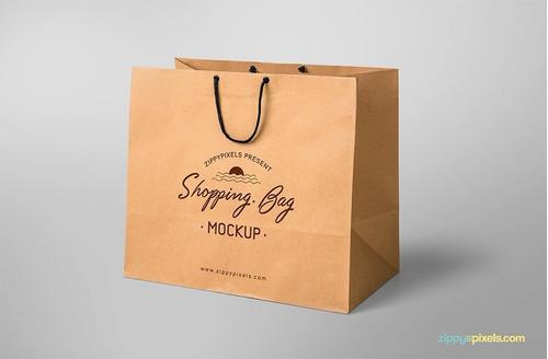bolsas en papel personalizadas ideales para tu negocio