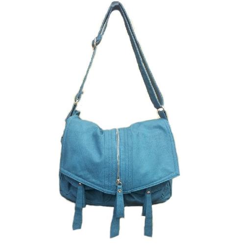 bolsas femininas azul + brinde de 1 carteiras de dinheiro