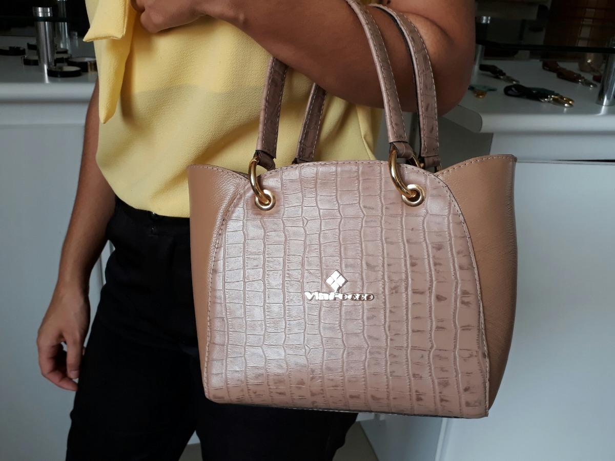 37d5f7063 Bolsas Femininas Baratas De Couro Legítimo - Ref 8077 - R$ 181,00 em ...