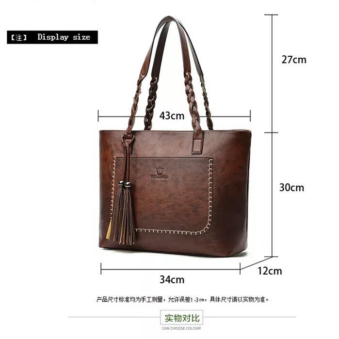 1885422c16 Bolsas Femininas Ombro Grande Marca Grife Moda Importada - R$ 149,00 ...