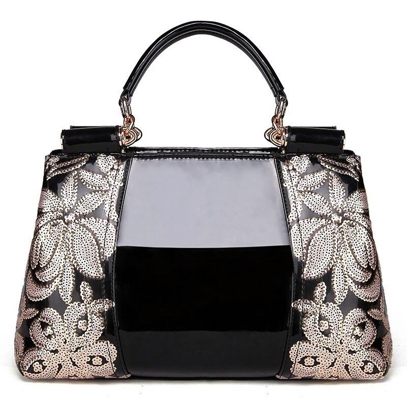 d065e3edf bolsas femininas preta marca grife luxo importada verniz top. Carregando  zoom.