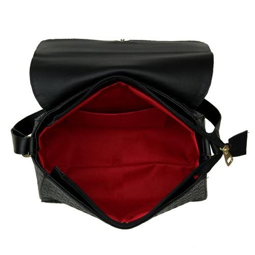 bolsas femininas transversal e baú com carteira feminina