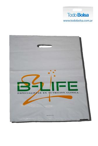 bolsas impresas de polietileno y cartón con tu logo