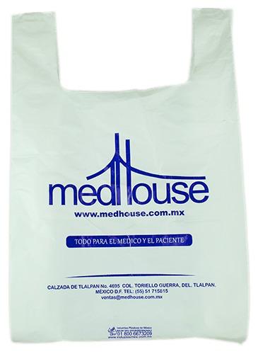 bolsas impresas - personalizadas - plastico
