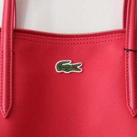 f8e1fe625 Bolsas Lacoste Original Nueva Color Rosa Envío Gratis (141)