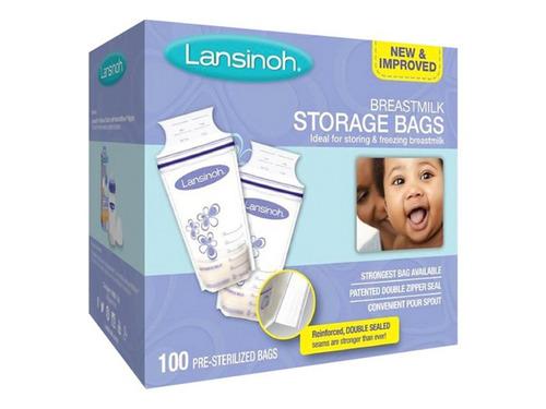 bolsas lansinoh almacenar leche materna x 100u bpa free