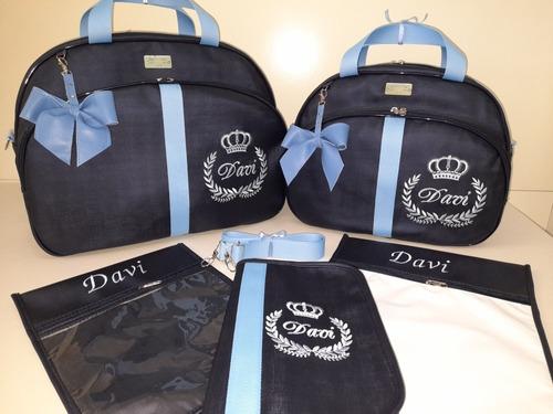 bolsas maternidade personalizadas com nomes e desenhos