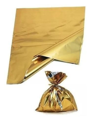 bolsas metalizadas para cotillón. 50 x 70 cm  10 x $ 290