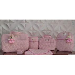 2f67e090f080d Mochila Maternidade Rosa Bolsas - Bebês no Mercado Livre Brasil