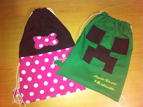 bolsas multiuso para niños