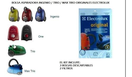 bolsas originales aspiradoras electrolux ingenio trio one x3