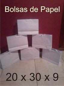 d83766a0c Bolsas De Papel Lisas en Mercado Libre Argentina