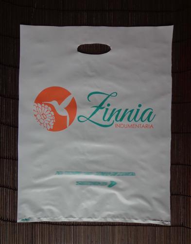 bolsas para cajas de polietileno impresa 40x60