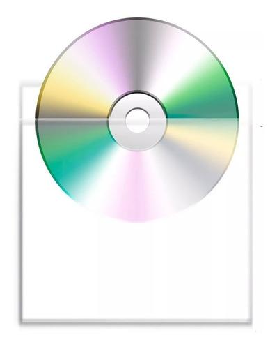 bolsas para cd con pegamento/50 mic x100un stc electronicos