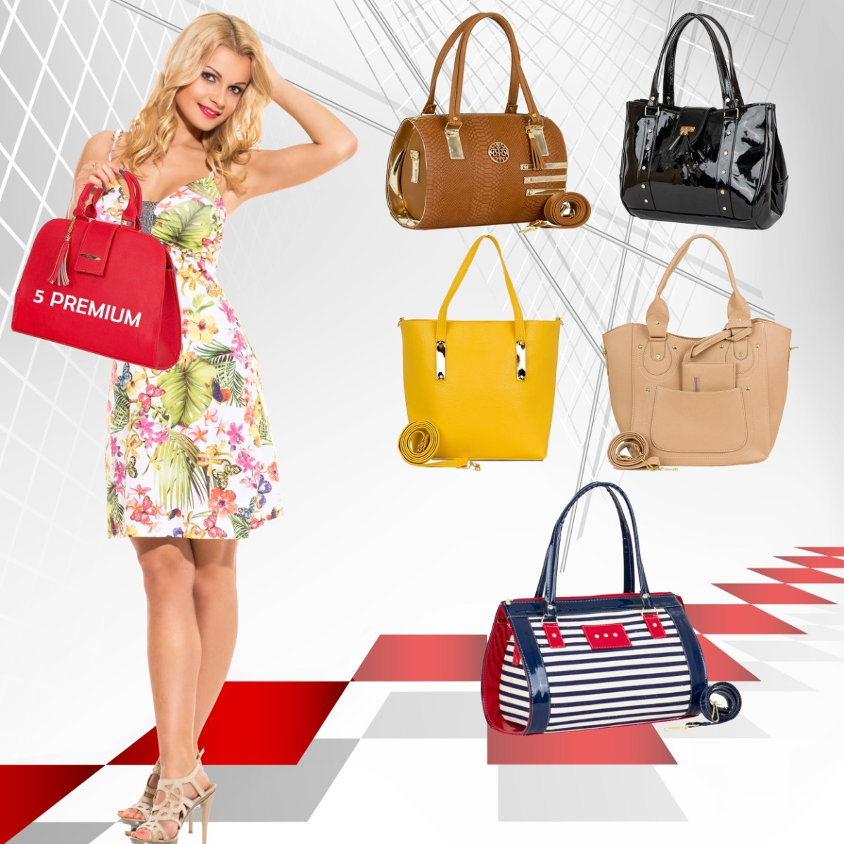 08ad3b51ed45a bolsas para dama mayoreo moda lote 5 bolsos mujer originales. Cargando zoom.