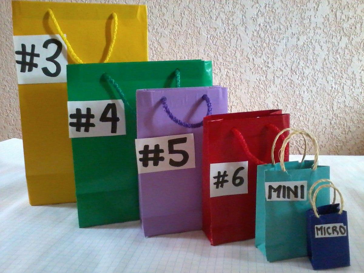 Bolsas para regalo en papel am rica en mercado libre - Bolsas para decorar ...