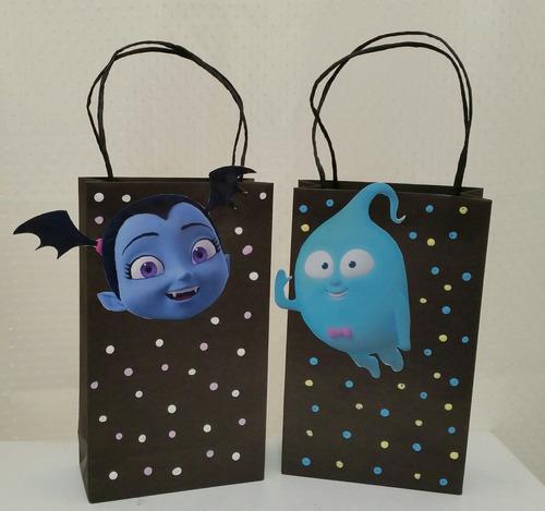 bolsas para sorpresitas personalizadas de vampirina