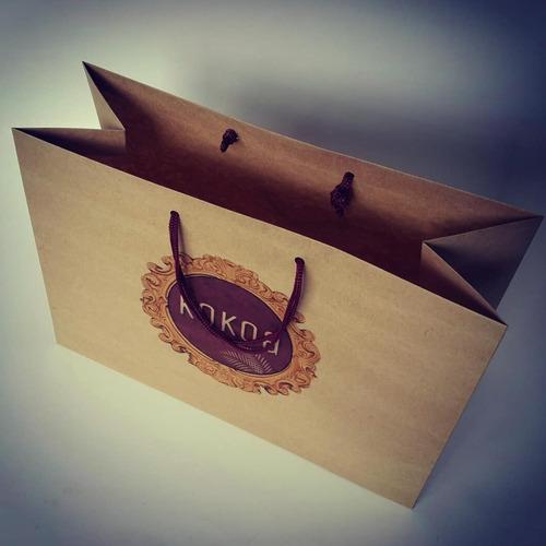 bolsas personalizadas en papel kraft