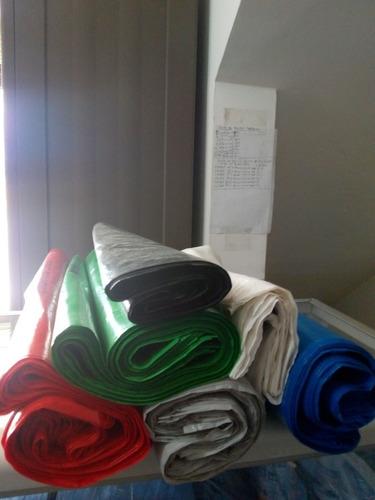 bolsas plastica impresa hospitalaria colores docena 40x50cm