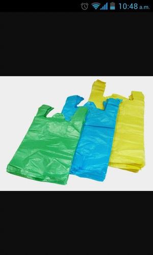 bolsas plásticas  2kg con asa excelente calidad