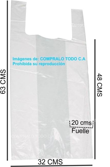 bolsas pl sticas con asas camiseta tipo boutiques 25 kilos
