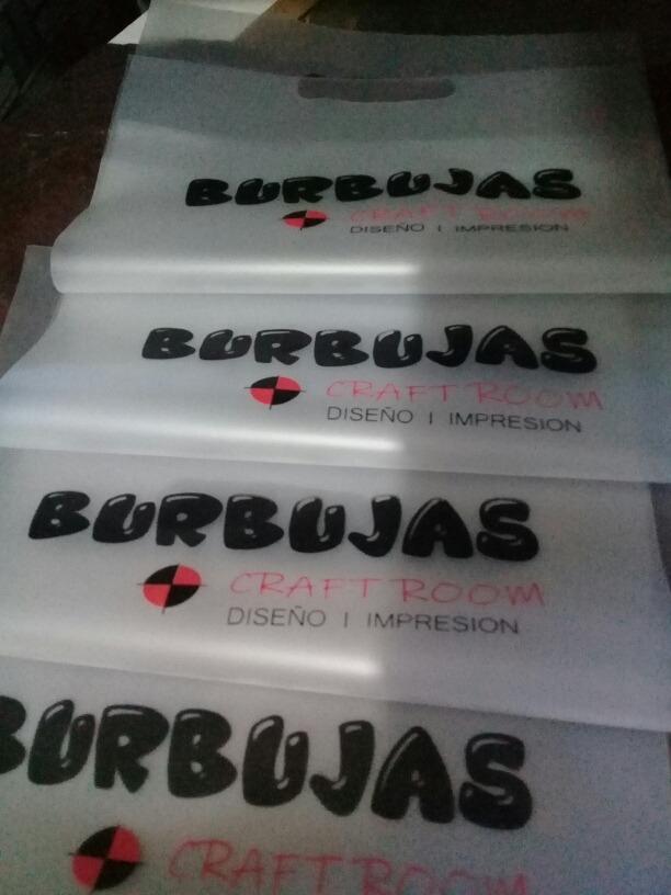 0ec089be6 Bolsas Plasticas Con Tu Logo - $ 8,00 en Mercado Libre