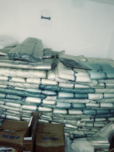bolsas plásticas de basura 30kg 40kg, transparentes, papeler