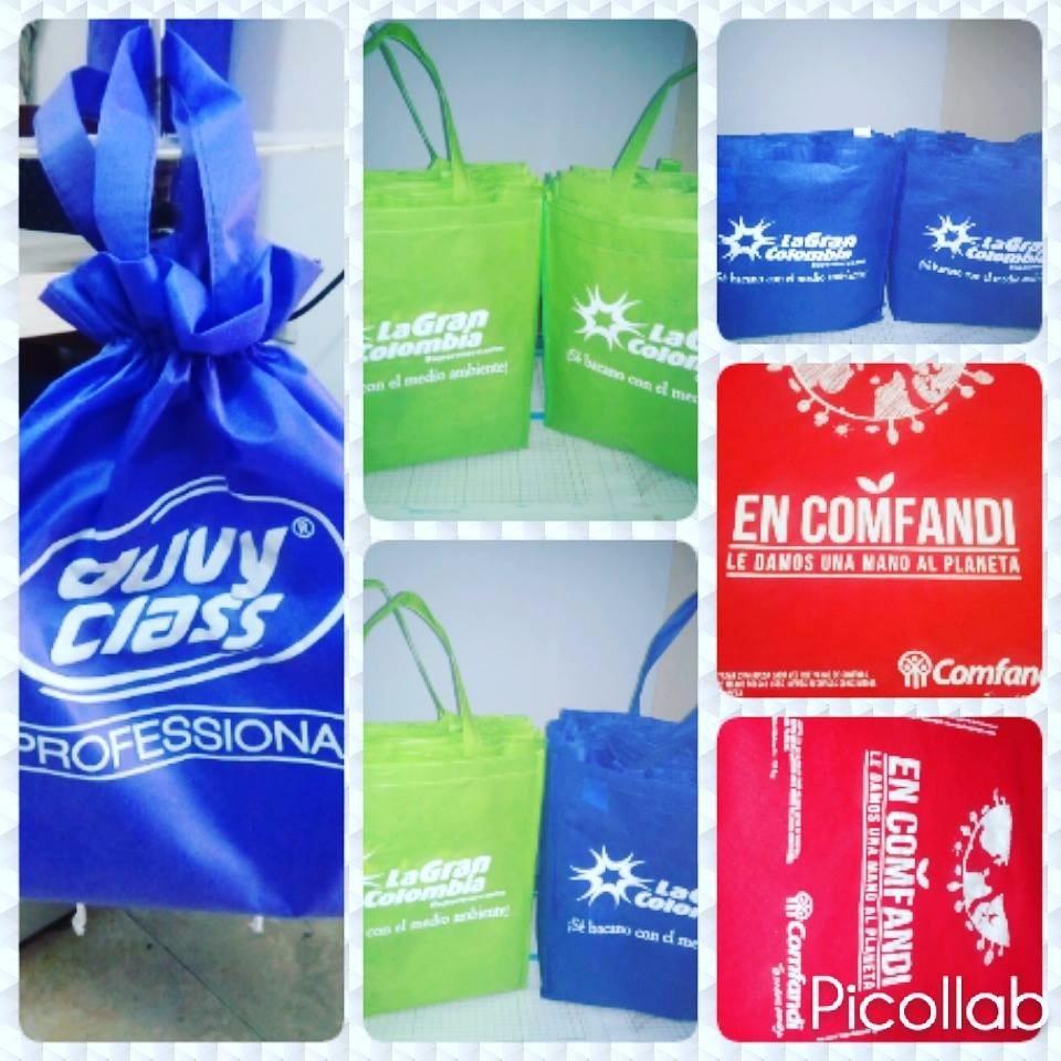 67b1b0545 Bolsas Publicitarias Tela Ecologica Cambrel - $ 1.000 en Mercado Libre